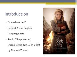 ed resource summary on the book thief resource summary electronic resources to accompany unit on the book thief allie calderon 2