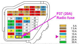 audi a6 location of radio fuse questions answers pictures fuse for radio