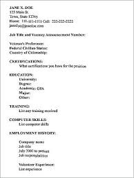 How To Type A Resume