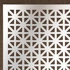 Decorative Metal Grates Shop Steelworks 24 In X 3 Ft Aluminum Sheet Metal At Lowescom