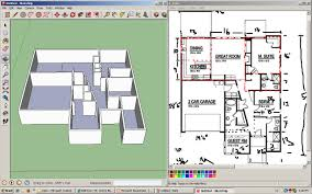how to draw floor plans in google sketchup elegant google sketch house plans free floor plan sketchup review