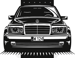 The internal chassis designation for saloon models is w 124. W124 Projects Photos Videos Logos Illustrations And Branding On Behance