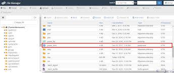 public html directory in my folder
