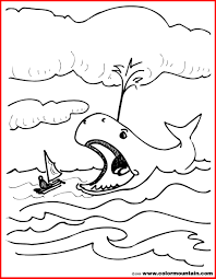 Free Printable Jonah And The Whale Coloring Pages New Sure Fire