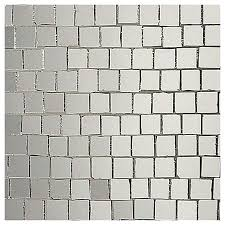 mirror mosaic stained glass mosaic roman silver mirror gloss glass mosaic tile sheets