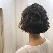 天然パーマが合うショートの髪型20選天パやくせ毛の外国人風ボブは