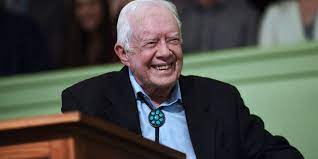 Former President Jimmy Carter is ...