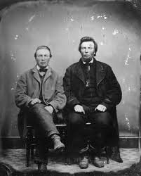 August Krueger and Charles Goetsch | Photograph | Wisconsin Historical  Society