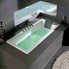 white freestanding bathtub bath whirlpool tub