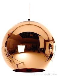copper pendant light modern led chrome gold copper glass globe round ball pendant lights hanging lighting