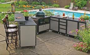 lovely ideas diy outdoor kitchen kits pros and cons of diffe outdoor kitchen cabinets materials