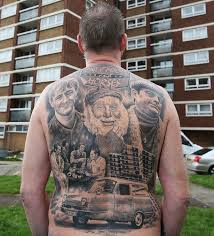 darren williams and his only fools and horses tattoo