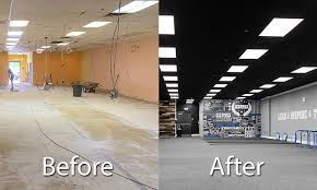drop ceilings a lighting makeover