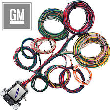 14 circuit gm restoration wiring harness streetrodelectrics com
