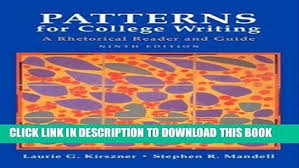 Patterns For College Writing Magnificent Patterns For College Writing 48th Edition Pdf Selolinkco