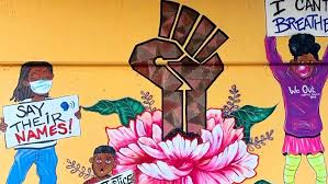 black lives matter mural unveiled in