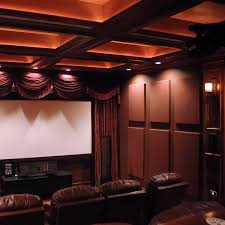 surprising design home theater wall panels pictures jeff autor s acoustical solutions using absorptive soundsued acoustic
