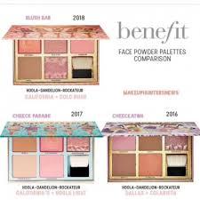 new benefit face powder palettes 2018 2017 2016