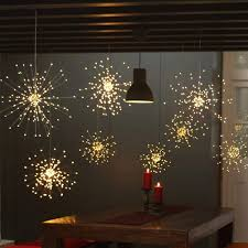 Battery Operated Hanging String Lights Twinkle Star 120 Led Firework String Lights Battery Operated