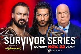 Updated 2020 WWE Survivor Series Match Card Ahead of PPV | Bleacher Report  | Latest News, Videos and Highlights