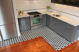 Cement Kitchen Floors Black And White And Cool All Over Cement Style
