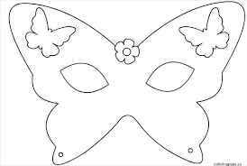 Mask Templates For Adults Magnificent Printable Mask Template For Adults Butterfly Modclothingco