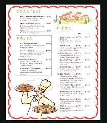 Restaurant Menu Card Template Free Food Templates Microsoft Word