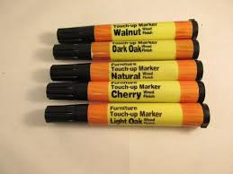 furniture touch up markers. 5pc wood furniture touch up markers scratch repair dark light oak cherry walnut | ebay