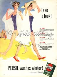 the advertising archives 2015 we have taken a look at this iconic whiter than white cleaning brand across the decades enjoy this stainless selection of vintage advertising