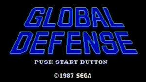 Global Defense Classic Game Room Global Defense Sega Master System Review Youtube