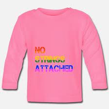 No Strings Attached Freundschaft Plus Lgbt Gay Baby Langarmshirt