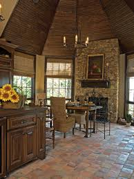 Rustic Kitchen Flooring Rustic Kitchen Floor Ideas 7419 Baytownkitchen