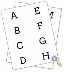 Free Alphabet Flash Cards Alphabet Flashcards Worksheetworks Com