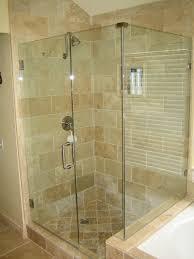 image of frameless glass shower doors design