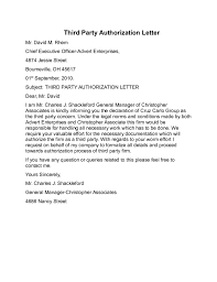 1 third party authorization letter sle