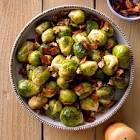 brussels sprouts with pancetta and maple glaze