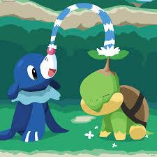 Watering a friend. | Pokemon alola, Pokemon drawings, Pokemon starters