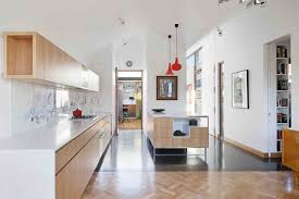 Dream Houses Large And Open Kitchen Design With Wooden Shelves And Cool Kitchen Design Courses Exterior