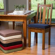 dining room cozy and efficient chair cushions with ties on plain padded cushion dining garden patio table