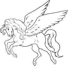 Unicorn Printouts For Coloring Psubarstoolcom