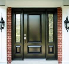 modern single door designs for houses. Beautiful Houses Ideas Black Modern Single Door Designs For Houses With Brick Wall Can Add  The Elegant Touch To S