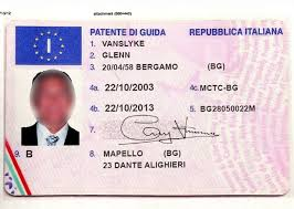 For Driving License At Online Sale Documentation Italian Fake Team Express
