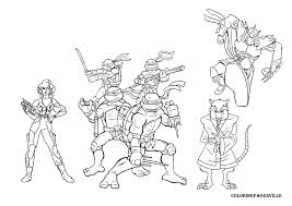 Ninja turtles coloring pages | The Sun Flower Pages