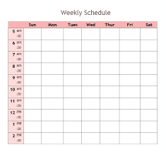 Summer Camp Daily Schedule Template Daily Schedule Template 9 Free Word Documents Download Summer Camp