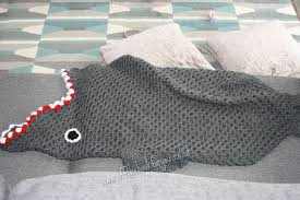 Shark Blanket Crochet Pattern