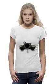 Женские <b>футболки</b> c принтами День защитника Отечества - <b>Printio</b>
