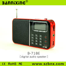 fm full form digital mini full form of fm radio with lcd display screen b 718e