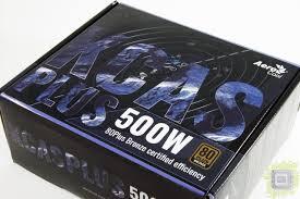 Обзор <b>блока питания AeroCool KCAS</b> PLUS 500W
