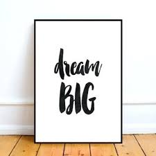dream wall art big w