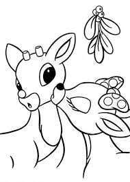 Small Picture rudolph the red nosed reindeer coloring pages on coloring bookinfo
